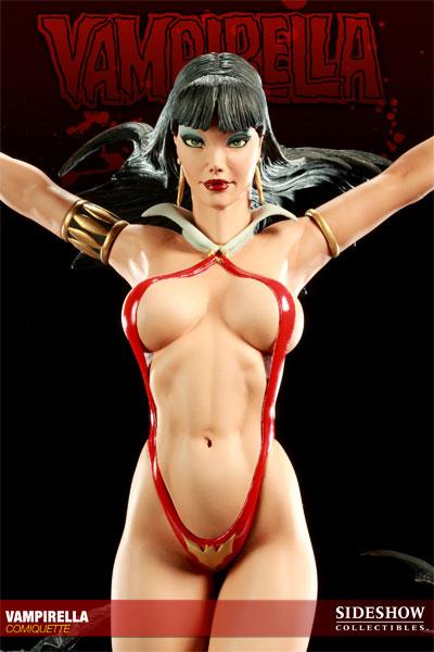 vampirella sideshow body closeup