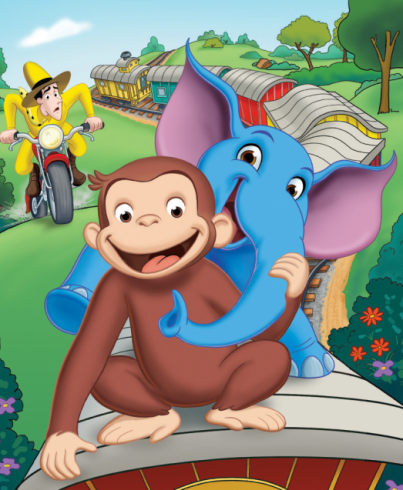 curious george follow monkey cropd