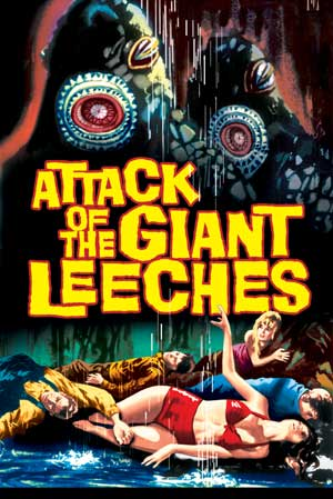attack giant leeches poster