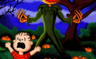 Linus Finally Meets The Great Pumpkin
